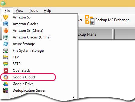 Google Storage 0