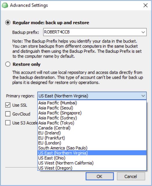 Amazon S3 VPC and CloudBerry Backup: Final Setup