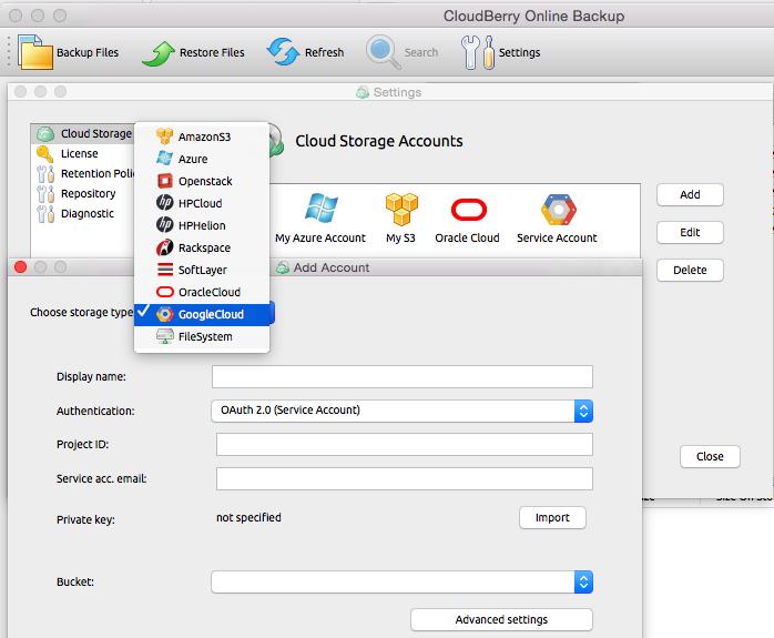 cloud backup for macs