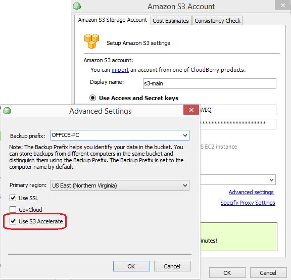 Amazon S3 Transfer Acceleration