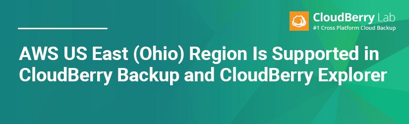 AWS Ohio region