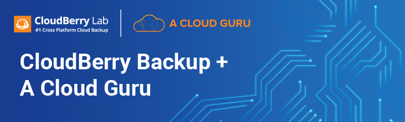 CloudBerry partners with A Cloud Guru