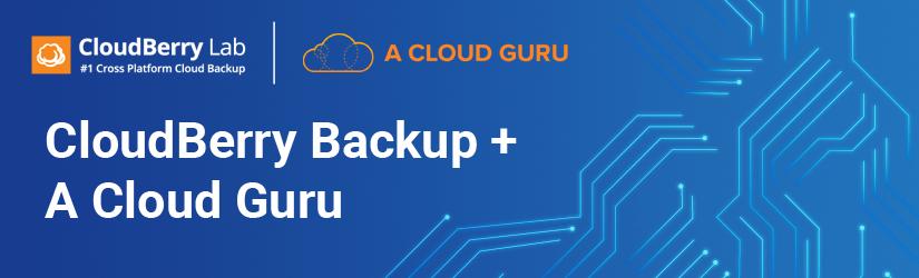 CloudBerry partners with A Cloud Guru
