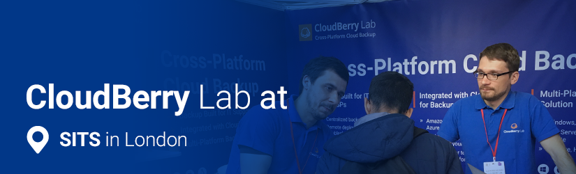 In Early June 2017 Cloudberry Lab Went To Service Desk It Support Show London This Is The Leading Event Uk For And
