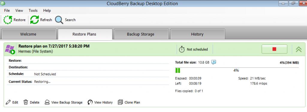 windows server restoration process
