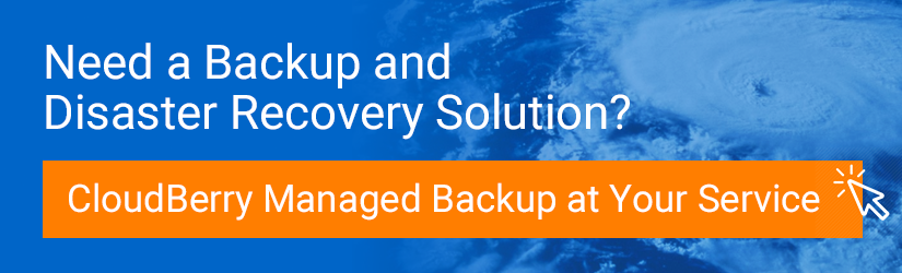 Backup Disaster Recovery Solution - CloudBerry Managed Backup Service