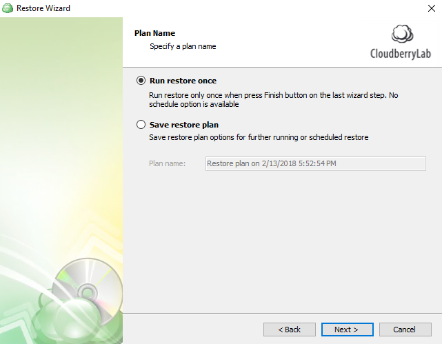 restoring from windows 10 cloud backup step 3