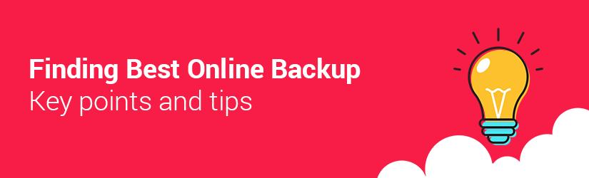 points for msp to find best online backup service