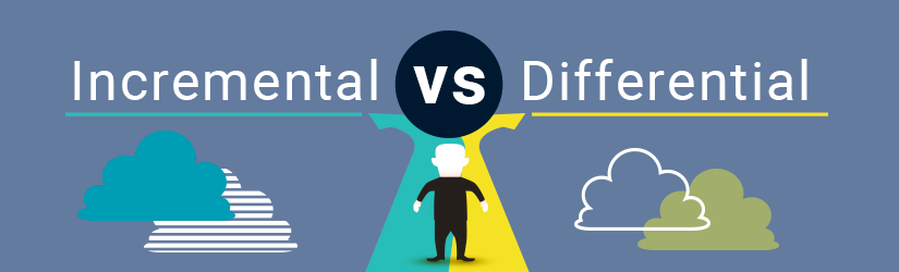 Incremental vs Differential backup