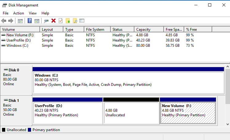 """Extending/Shrinking Windows Partition """"To the Left"""""""