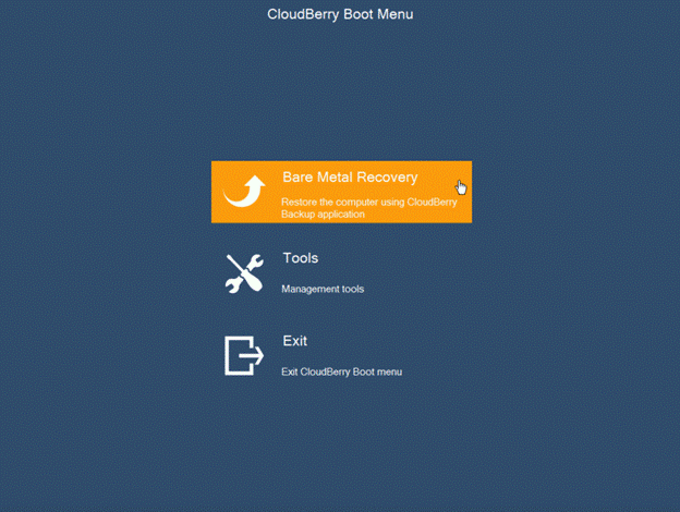 CloudBerry Bare Metal Boot for Microsoft Windows Server 2012