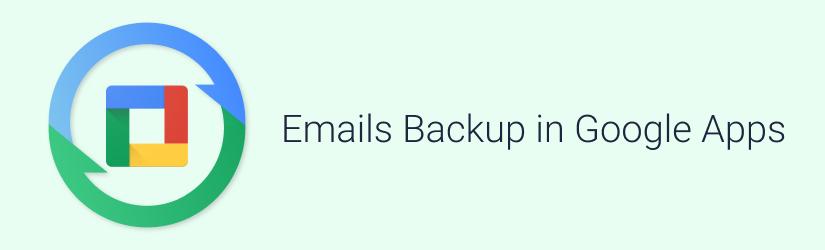 Backup email: Google Apps