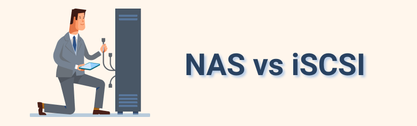 The difference between iSCSI and NAS