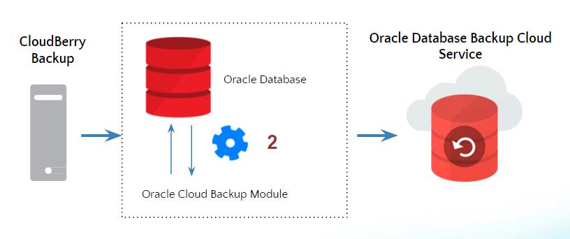 oracle database backup cloudberry backup