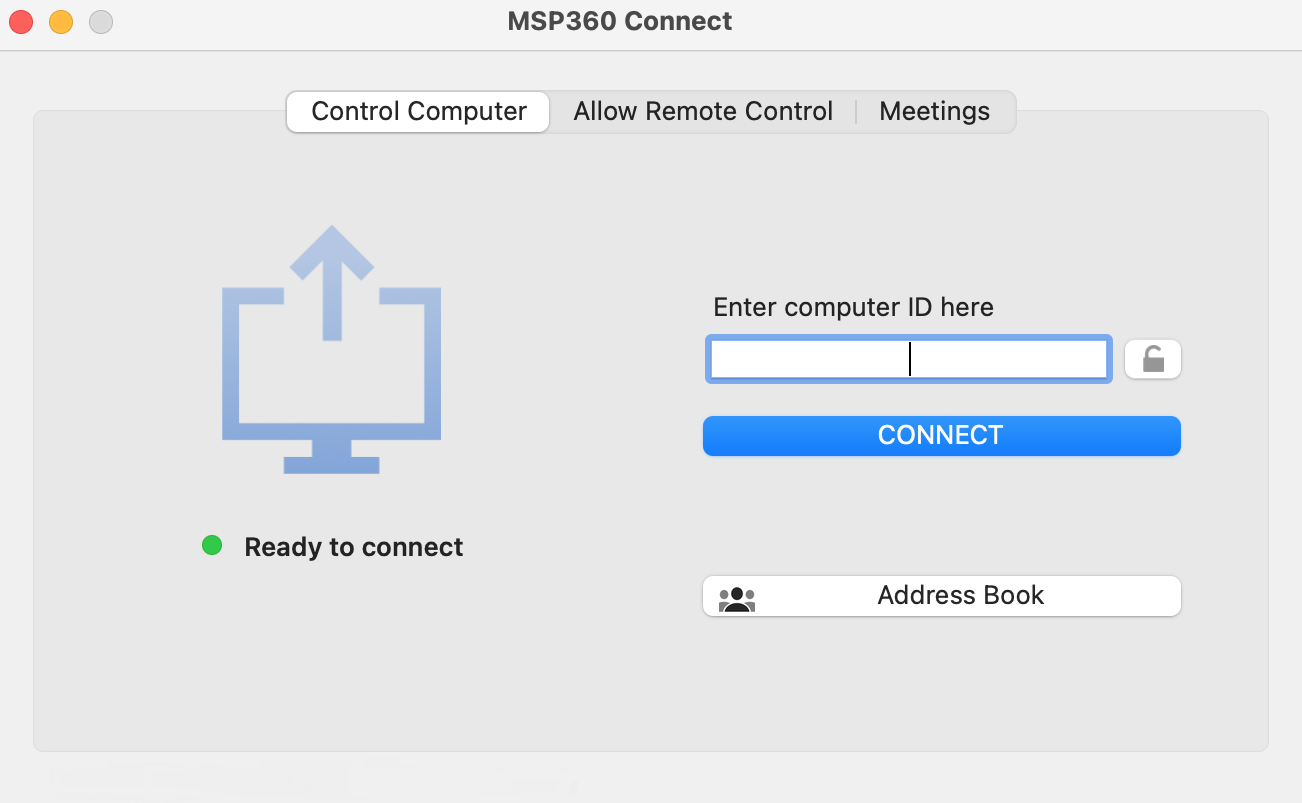 Remote Desktop Full Version Screenshot