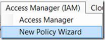 NewPolicy Wizard