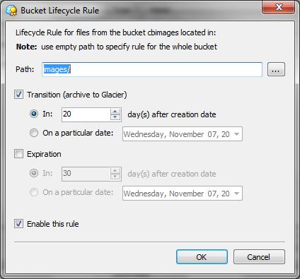 Amazon S3 Bucket Lifecycle-3