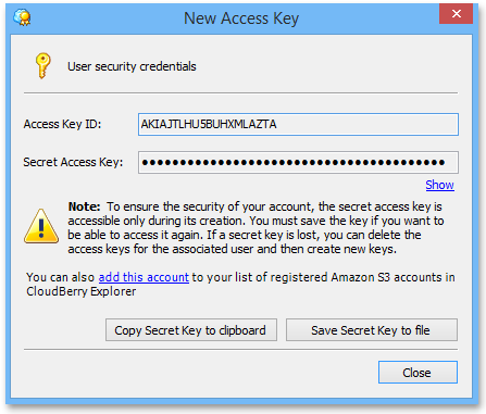 New_Access_Key
