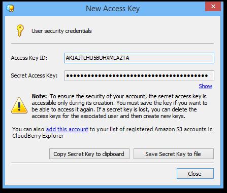 New_Access_Key