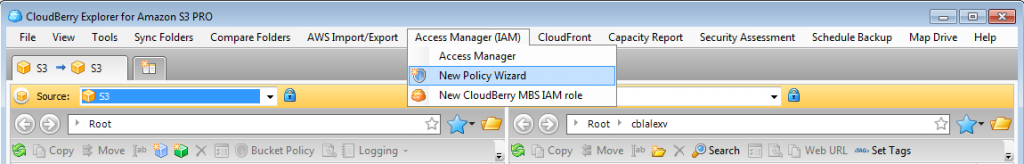 New Policy Wizard