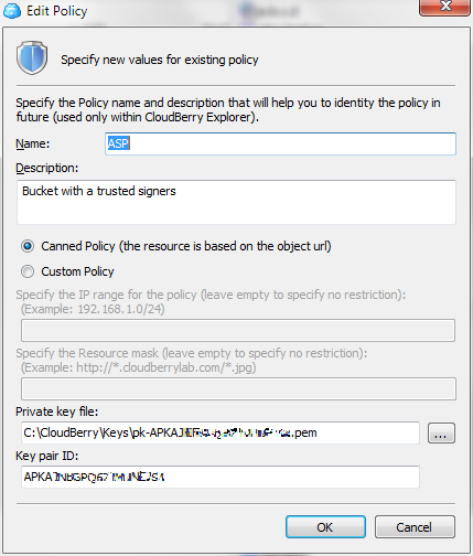 CloudFront Authentication Policy Setting