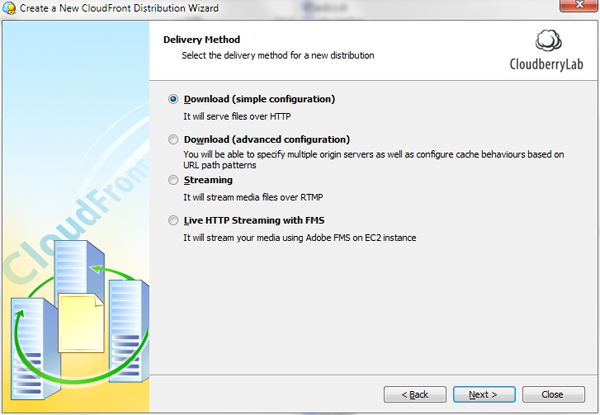 CloudFront Distribution Wizard