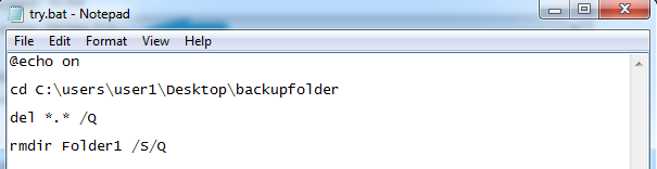 Deleting Files after Successful Backup
