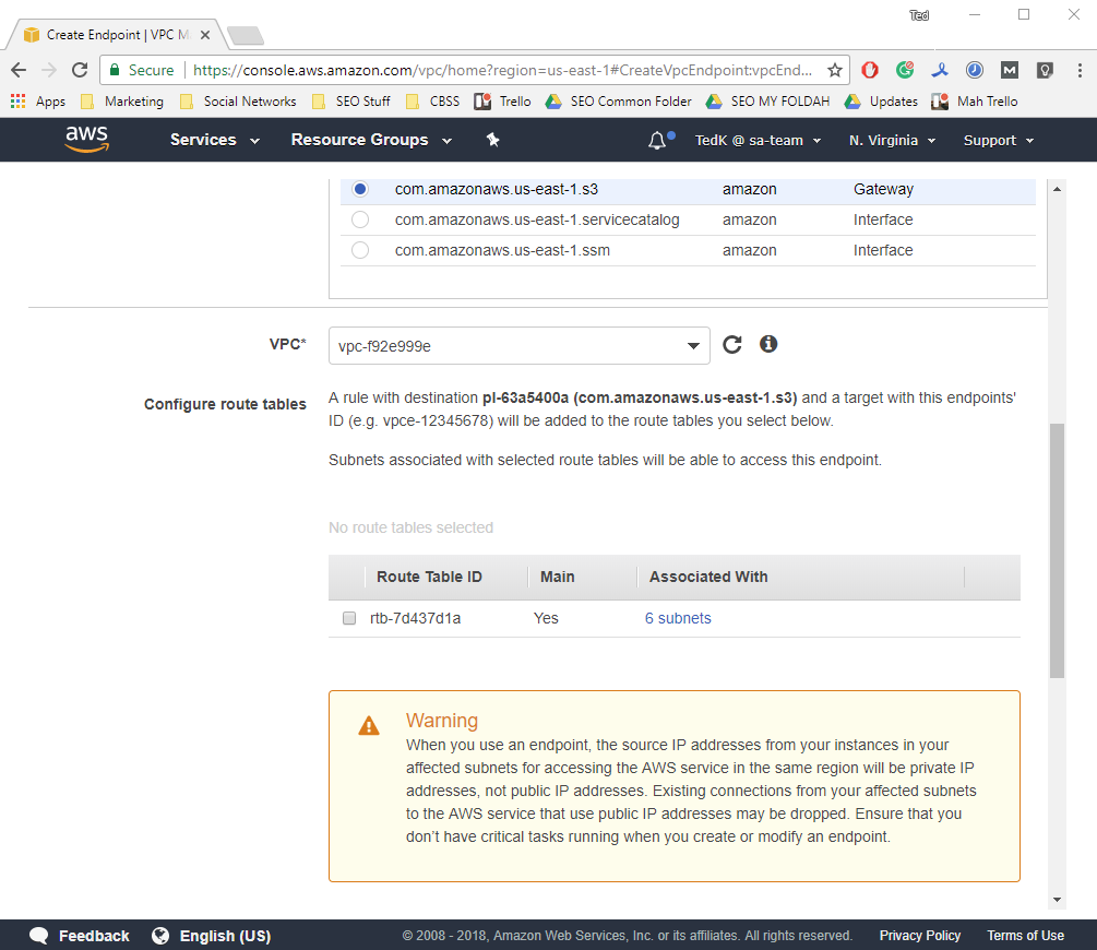 How to Create and Access an Amazon S3 VPC Endpoint
