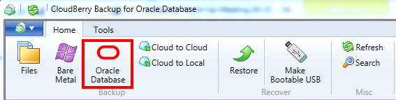 Back Up Oracle Database with CloudBerry Backup: How to