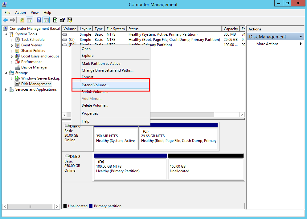 amazon-ec2-instance-extend-volume-computer-management