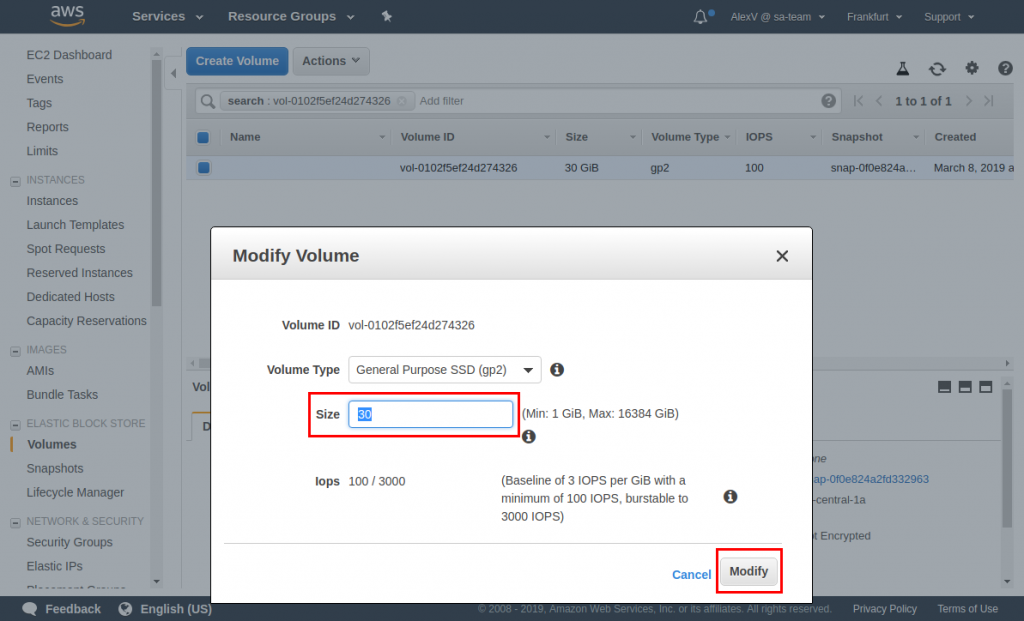 How to Resize an Amazon EBS Volume: A Step-by-Step Gudie