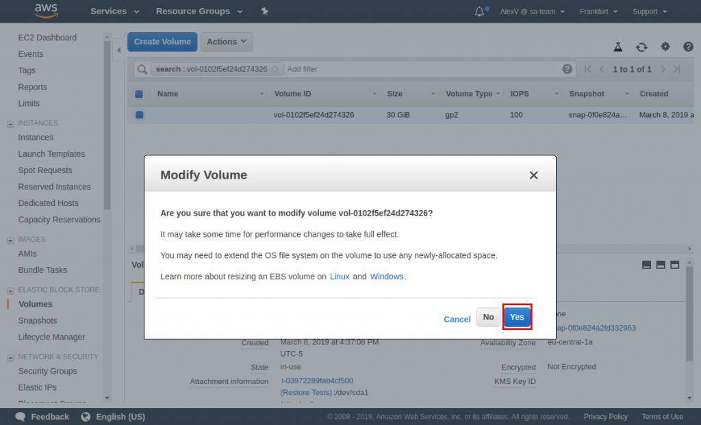 How to Resize an Amazon Elastic Block Store Volume
