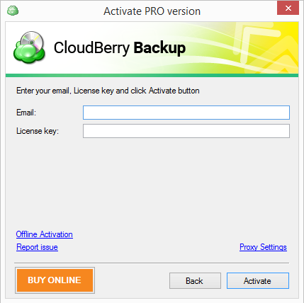 cloudberry-backup-activate-pro-version-screen
