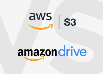 Amazon S3 vs Amazon Drive