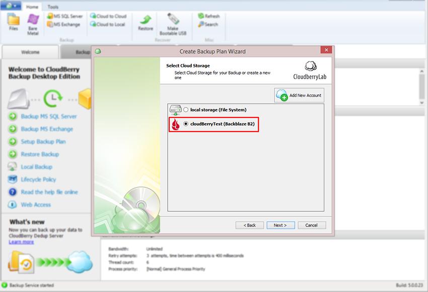 how-to-use-b2-cloud-storage-with-cloudberry-backup-setup-backup-plan-select-cloud-storage