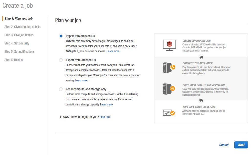 Plan your job