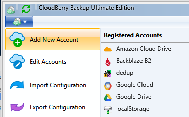 Support for Minio in CloudBerry Backup 5 6