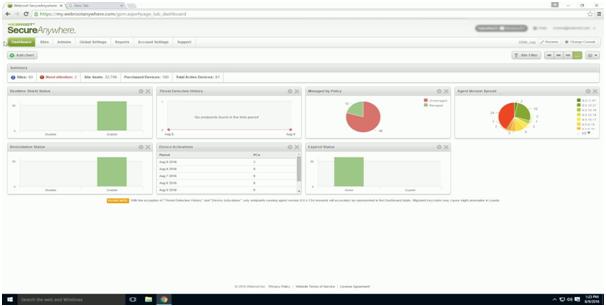 MSP antivirus solution - WebRoot