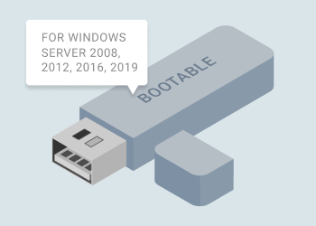 Bootable USB for Windows Server 2008-2019