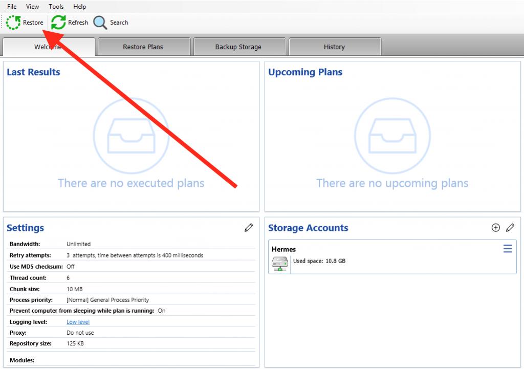 Restoring Windows Server from bootable USB