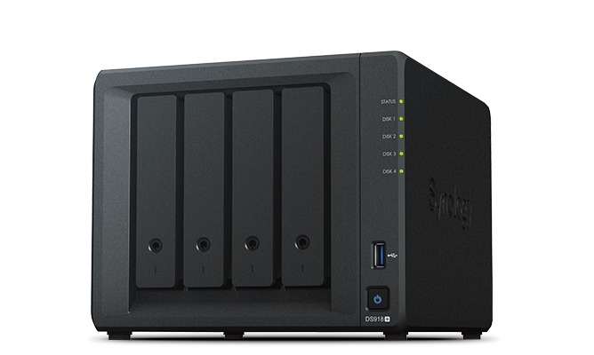 This is a Synology NAS device