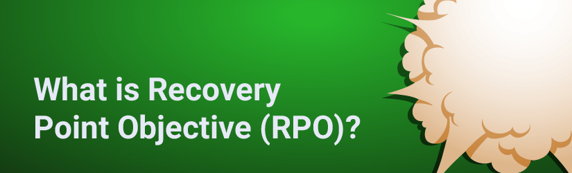 What is recovery point objective (rpo)