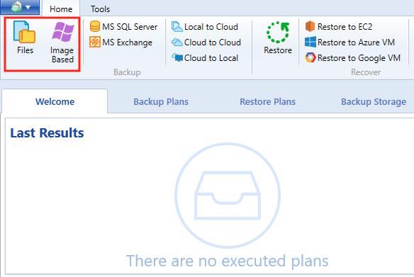 Windows 10 cloud backup: files or image based