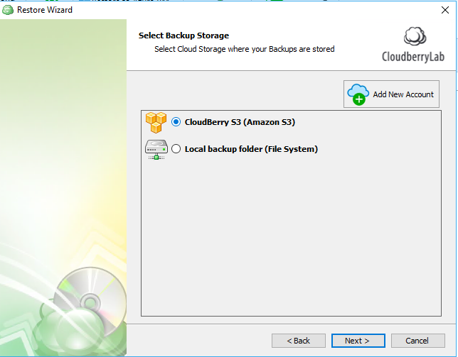 restoring from windows 10 cloud backup step 2