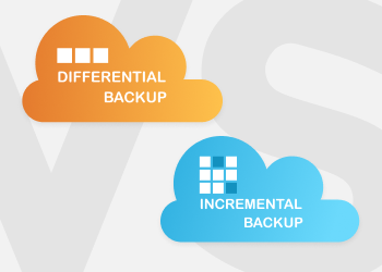 incremental backup vs differential backup illustration