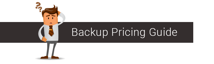 MSP backup pricing guide