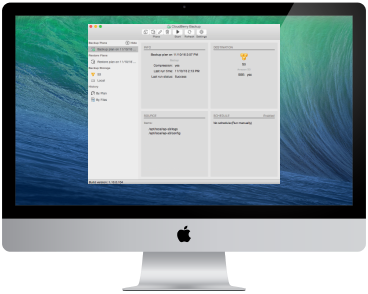 CloudBerry Backup for macOS image