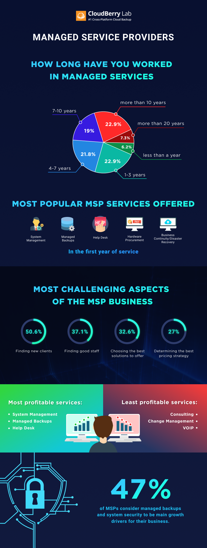 MSP infographics offering