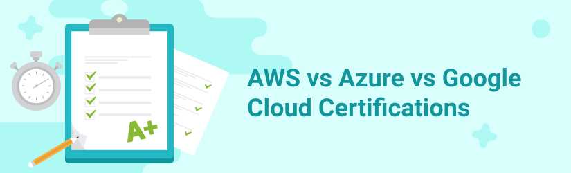 Top cloud certifications: AWS, Azure, Google