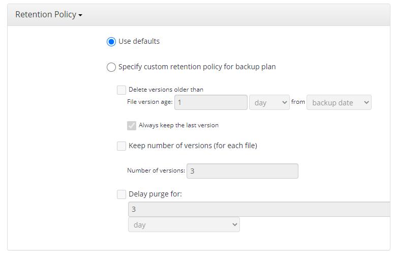 MSP360 Managed Backup Service: Virtual Machine Backup